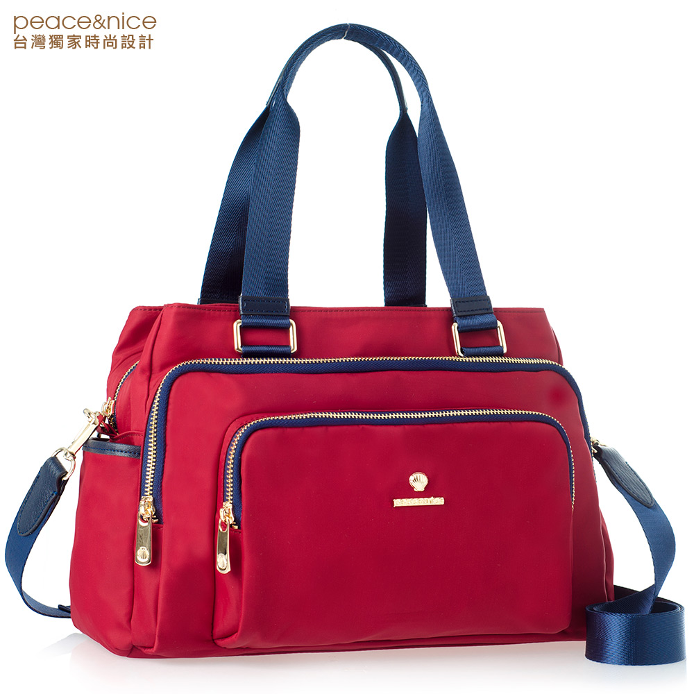 hot selling multifunction nylon shoulder bag for ladies to <strong>travel</strong>