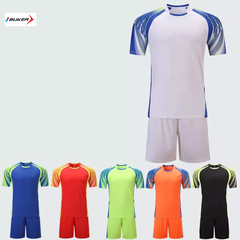 Wholesale blank latest new model made in china cheap team custom soccer jerseys