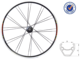 "26"" Alloy 6061-t6 Bicycle Wheel For MTB"