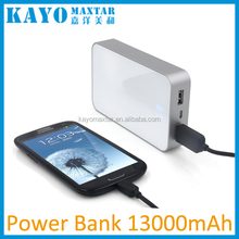 2016 wholesale super capacity power bank 20000mah
