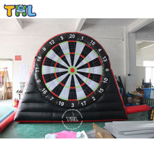 New popular inflatable game inflatable foot darts for sale,giant inflatable soccer dart for adults