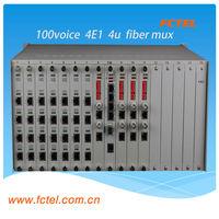 add drop multiplexer 100 channel Voice fiber multiplexer
