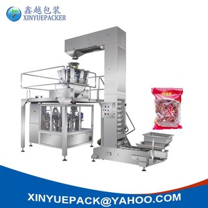 Automatically Rotary Weighing& Packing Line Red Date Packing Machine