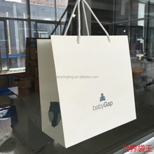 Luxury Fancy Design Big Strong Gift Shopping Custom Printed Paper Bags with Your Own Logo