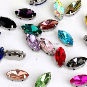 2018 New Arrival Resin Sew On Stones With Claw