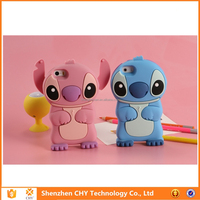 new arrival 3d Stitch Soft Rubber Skin Silicone Phone Case for Samsung galaxy s3 mini
