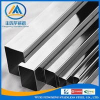 304 316 Electrical Resistance Weld Stainless Steel Square Pipe/Tube
