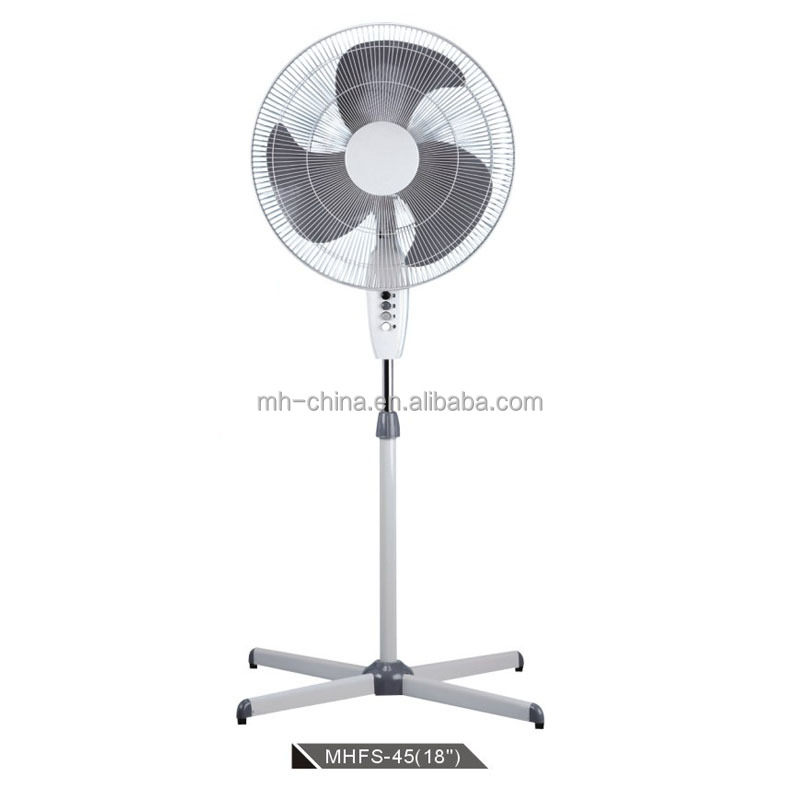 18 inch household and hot selling stand fan made in China