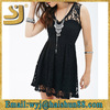 Black lace floor length dress
