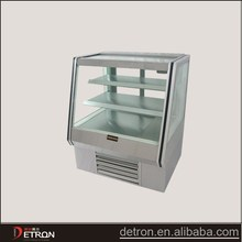 New design refrigerated bakery display case