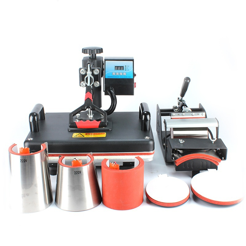 Freesub 8 In <strong>1</strong> Combo Heat Press Machine Cup Magic Mug T-Shirt Printing Machine tshirt Sublimation Machine 8 <strong>1</strong>