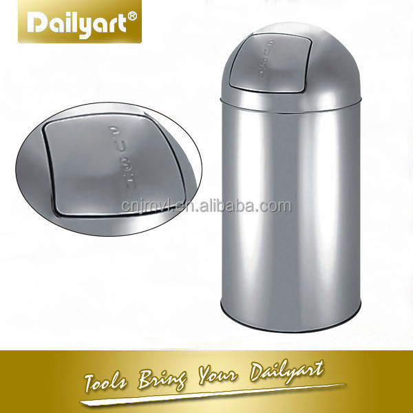 25 liter EU stainless steel pull out dustbin(V011060 25L)