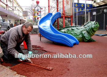 Colorful epdm rubber granules for flooring surface and artificial grass infill