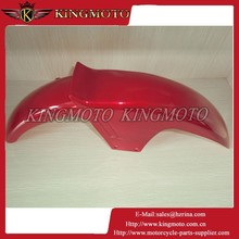 KINGMOTO 20150707 OEM quality Plastic Cover HORSE RED Motorcycle Front Fender