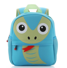 High Quality Material Waterproof Neoprene Kids Backpack Animal Children Bag Boys Girls Toddlers Daily Backpack