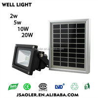 IP65 2w small rechargeable outdoor wall light led solar power flood lights solar light outdoor