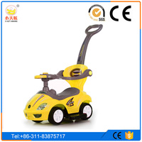 Original Raw PP Made Swing Car Children Ride on Car Toys with Music and Light, Baby Twisting Car