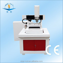 NC-M4040 mini convenient CNC marble router used cnc milling machine/diamond tool for stone cutting