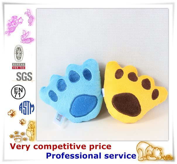 Factory Promotion Custom Made Plush Pet Products cat and dog toy