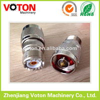 zhenjiang manufacturer SO239/PL239 to N Male/Plug adaptor