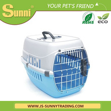 Luxury pet travel cage plastic small pet cages