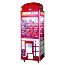 England style toy crane machine claw vending machine coin operated games