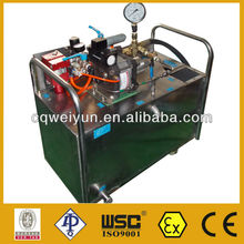 Automatic Control Pressure Test Equipment For CNG/LPG Cylinder Leakage Testing