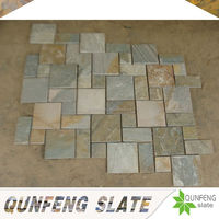 erosion resistance antacid cheap natural slate tile floor interlock stones
