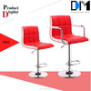 Wholesale pu swivel bar high back office chair /leather high chair /dining chair furniture