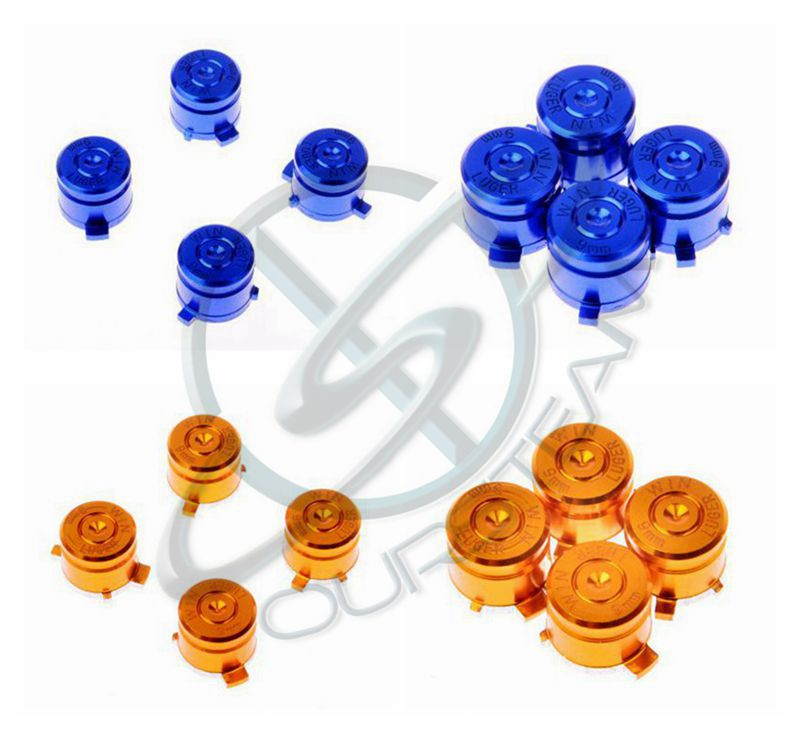 Aluminum Alloy Metallic Metal Analog Thumbstick for Sony PlayStation 4 PS4 in stock