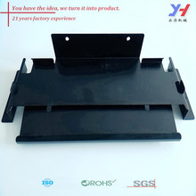 custom sheet metal fabrication of set-top box tv mount dvd wall bracket as your drawings