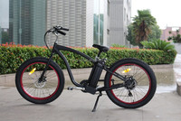 Newest newest ! first time seen design red rim fat tyre HUMMER Electric Bicycle