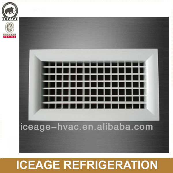 AG-DFC double deflection supply air grille