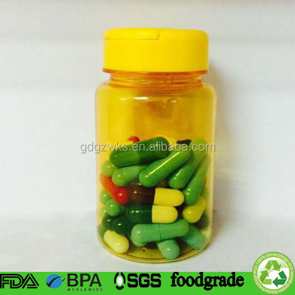 plastic packaging products manufacturer,100ml Pet plastic bottle for sex tablet/capsule packaging