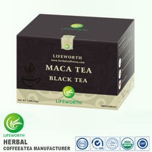 Lifeworth wholesale best black tea brand blood fat reducing maca extract black tea vietnam