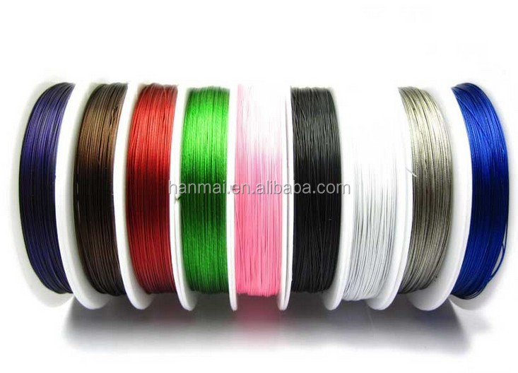 stainless steel wire cable for jewelry making /jewelry wire