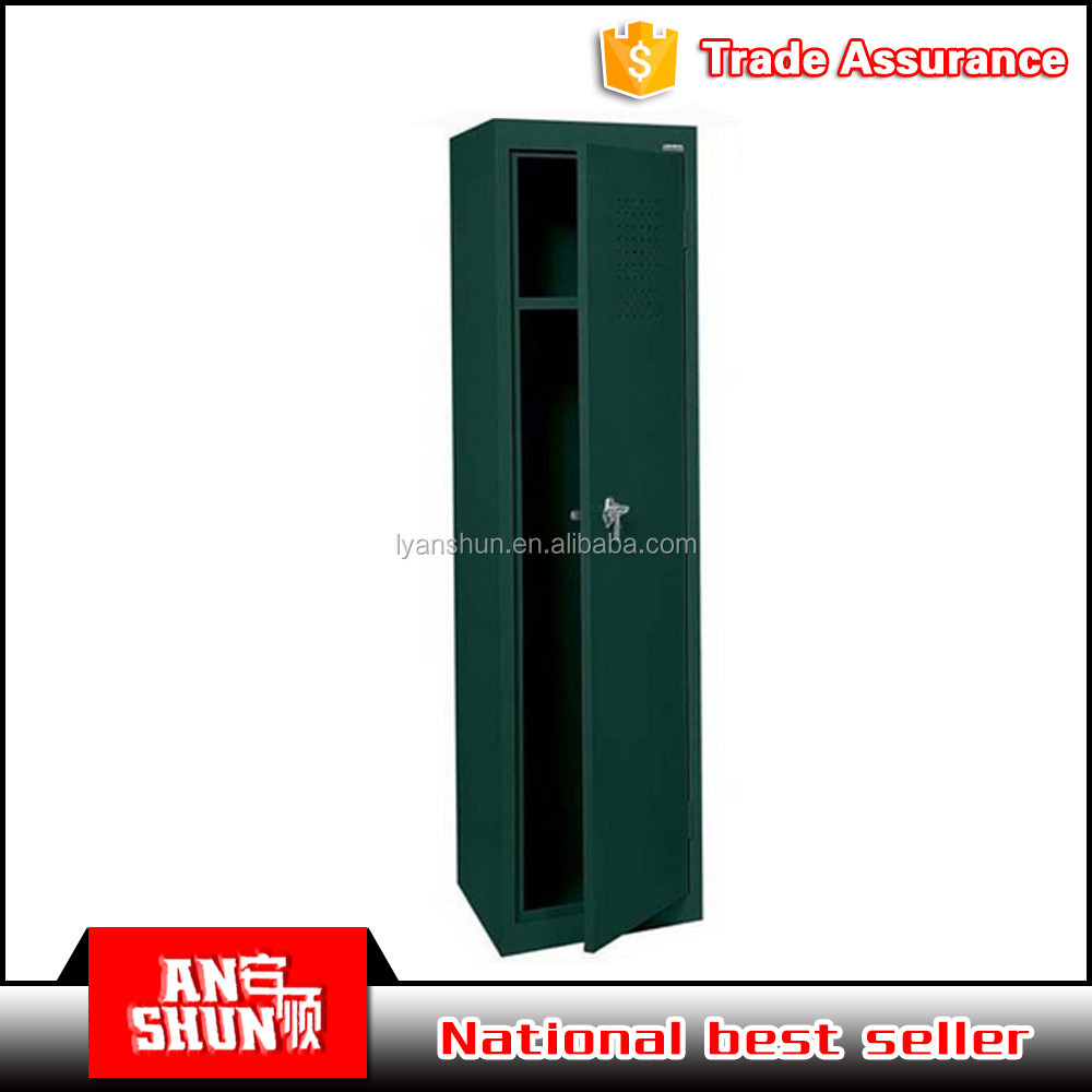 high quality army steel hanging clothes wardrobe steel military wall locker for sale