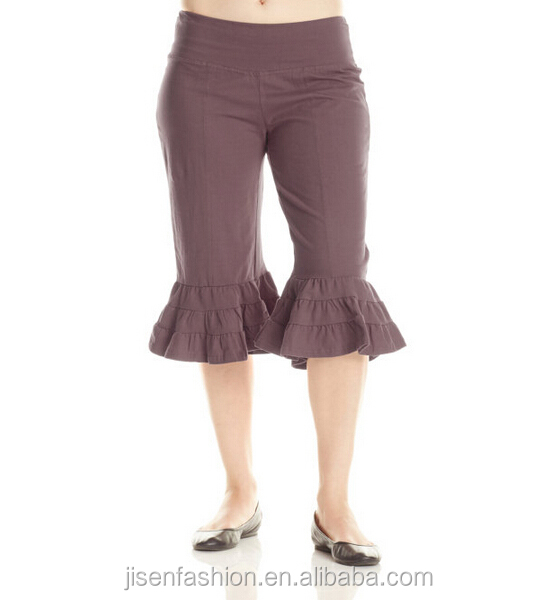 capri waistband bloomer pedal pushers women dance pants