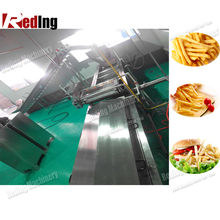 Automatic KFC chicken frying machine/chicken fryer/continous frying system
