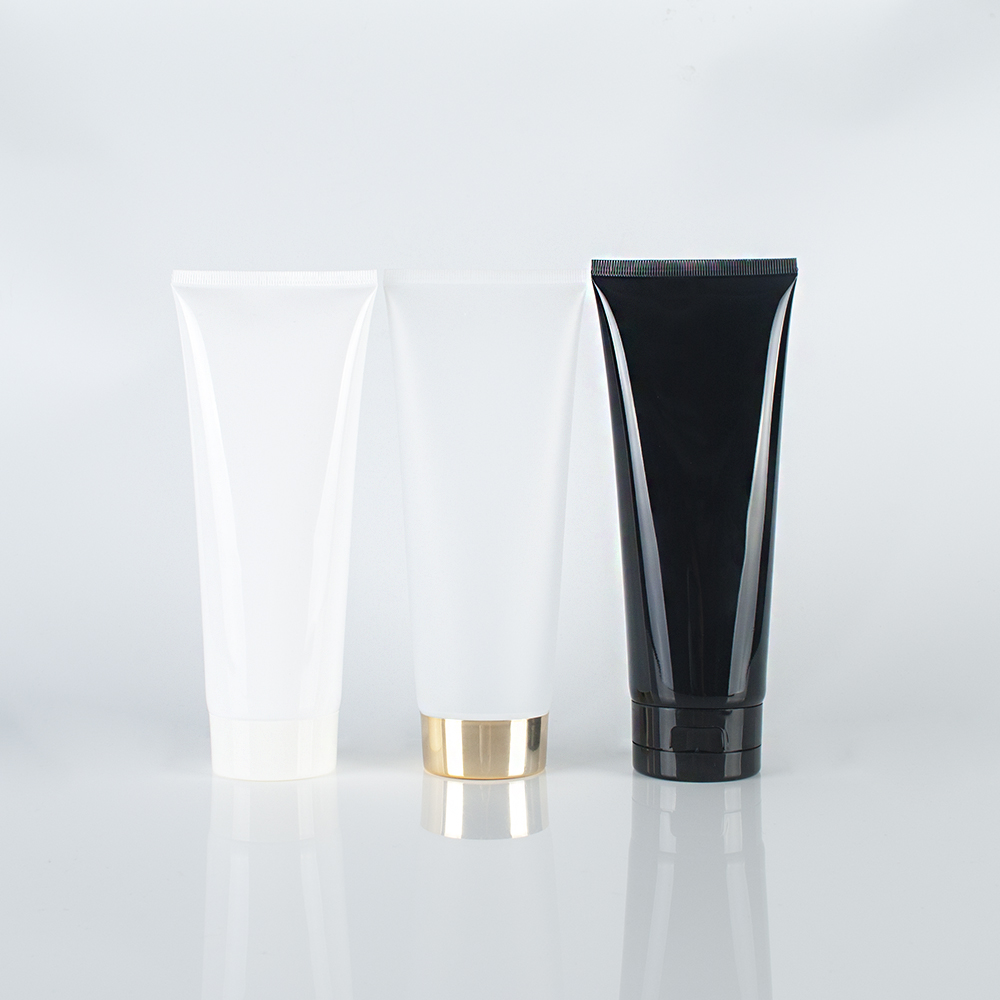 Customized <strong>PE</strong> Frosted soft lotion cosmetics tube shampoo lotion tube packaging container