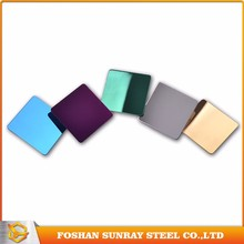 2mm 3mm pvd color coating perforated steel sheet decorative