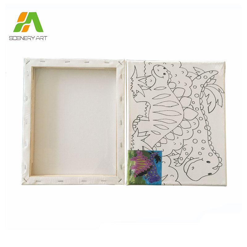 Grade A High Quality wholesale stretched canvas artist material frames