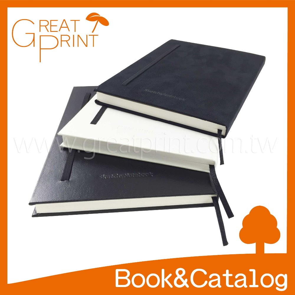 Suede/ PU Leather Debossed Hardcover Notebook Printing