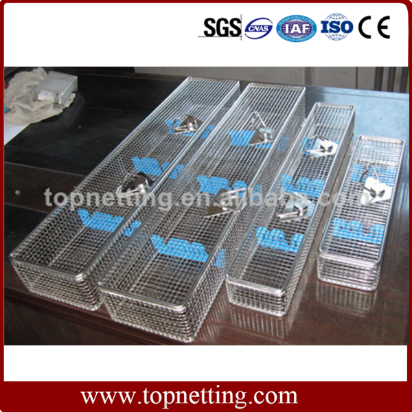 Stainless Steel Endoscope Baskets / Endoscope containers