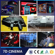 High Level Game Machine 5D 6D 7D Cinema Simulator Riders Machine