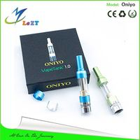 Sunrise 2014 Best Selling Colorful electronic cigarette clear atomizer ONIYO