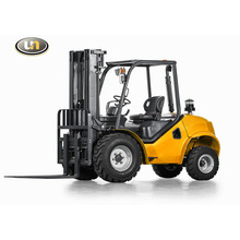 1.8T/2.5t/3.5t Compact 4WD Rough Terrain Forklift with Wide Vew Mast, Japanese Engine