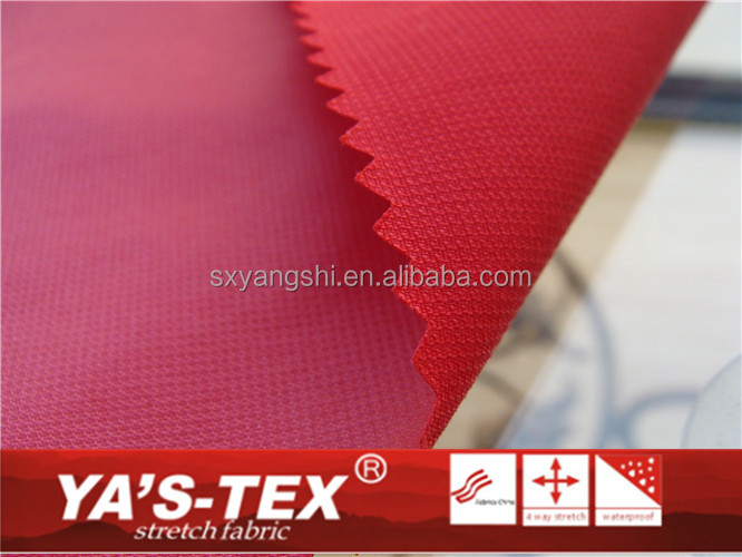 100% nylon oxford coated PU fabric used for suit