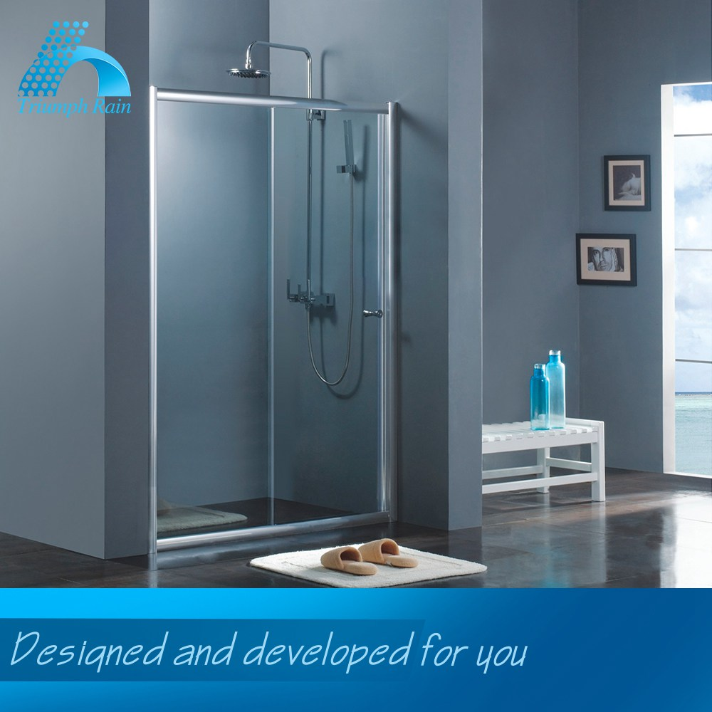 Quality Assured Low Price Customized Design Polished Glass Partitions For Shower Room