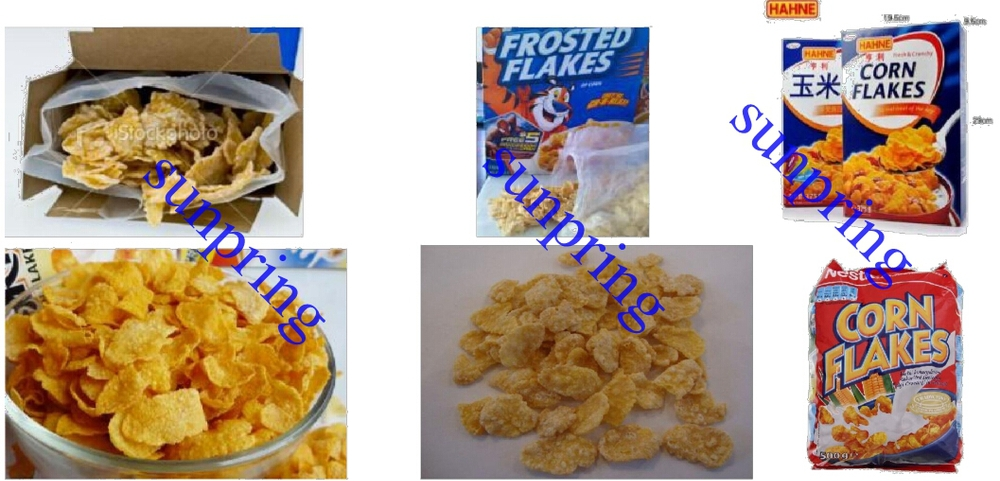 good quality multifuctional Corn Flakes Breakfast Cereal Chocolate bar fruit loops machine for sale Made in China BEST PRICE